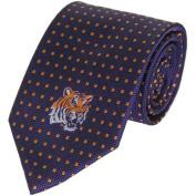 Lsu Tigers Dot Pattern Silk Necktie