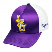 LSU Tigers TOW Women Purple White Satina Mesh Adjustable Strap Hat Cap