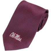 Mississippi Ole Miss Rebels Dot Pattern Silk Necktie