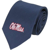 Mississippi Ole Miss Rebels Solid Silk Necktie
