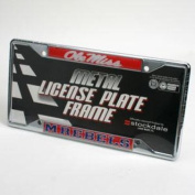 "Mississippi ""Ole Miss"" Rebels ""rebels"" Licence Plate Frame - Chrome"