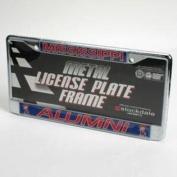 "Mississippi ""alumni"" Licence Plate Frame - Chrome"