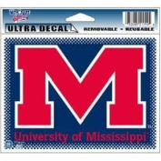 "Mississippi ""Ole Miss"" Rebels Ultra Decal 13cm x 15cm"