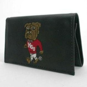 Mississippi State Bulldogs Embroidered Leather Wallet