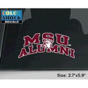 Mississippi State Bulldogs Decal - Arched Msu Alumni W/ Mascot