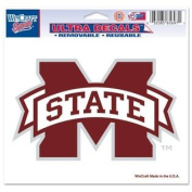 Mississippi State Bulldogs Official NCAA 10cm x 15cm Car Window Cling Decal by Wincraft