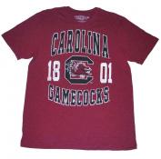 "South Carolina Gamecocks Colosseum Maroon Big Black ""1801"" Logo T-Shirt"