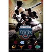 2011 College World Series Americana Poster