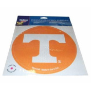 Tennessee Volunteers WinCraft Orange Removable Adhesive Perforated Decal