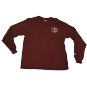 Texas A & M Aggies Champion Maroon Loose Long Sleeve Cotton T-Shirt