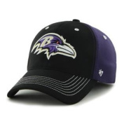 Baltimore Ravens 47 Brand Purple Black Carson Closer Flexfit Hat Cap