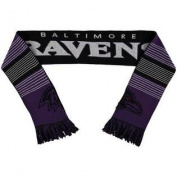 Baltimore Ravens Forever Collectibles Unisex Reversible Split Logo Scarf w/ Priority Shipping
