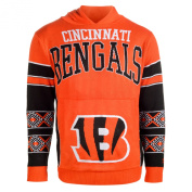 Cincinnati Bengals Forever Collectibles KLEW Big Logo Hooded Sweater Size XXL w/ Priority Shipping