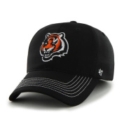 Cincinnati Bengals 47 Brand Black Game Time Closer Performance Flexfit Hat Cap
