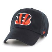 Cincinnati Bengals 47 Brand Black Clean Up Adjustable Slouch Hat Cap