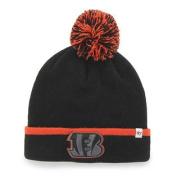 Cincinnati Bengals Black Orange Baraka Knit Cuff Poof Beanie Hat Cap