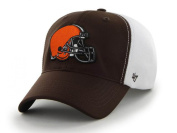 Cleveland Browns 47 Brand Brown Draught Day Closer Performance Flexfit Hat Cap