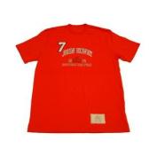 Denver Broncos Canton Collection Orange John Elway 2004 Hall of Fame T-Shirt