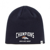Denver Broncos 47 Brand 2014 AFC West Champions Navy Hat Cap Beanie