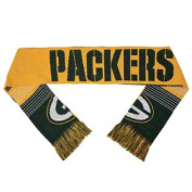 Green Bay Packers Forever Collectibles Unisex Reversible Split Logo Scarf