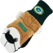 Green Bay Packers Team Mascot Mittens, Small/Medium