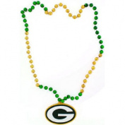 Green Bay Packers Mardi Gras Party Beads