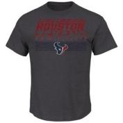 Houston Texans Majestic Inside Line IV T-Shirt Grey Size 2XL