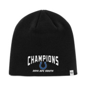 Indianapolis Colts 47 Brand 2014 AFC South Champions Black Hat Cap Beanie