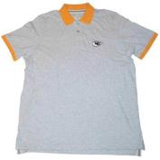 Kansas City Chiefs Men's Antigua Short Sleeve Shirt Grey Yellow