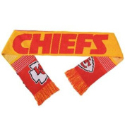 Kansas City Chiefs Forever Collectibles Unisex Reversible Split Logo Scarf