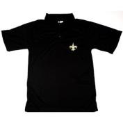 New Orleans Saints NFL Team Apparel E-Systems Polo Shirt Size MT