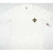 New Orleans Saints NFL Team Apparel Polo Shirt Size