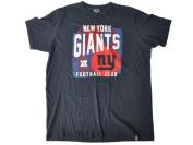 New York Giants 47 Brand Navy Football Club Splatter Logo Flanker T-Shirt