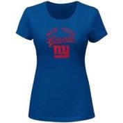 New York Giants Majestic Forward Progress III T-Shirt Ladies Size M
