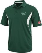 New York Jets NFL Team Apparel Field Classic Dri Fit Polo Shirt Green Big Sizes