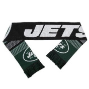 New York Jets Forever Collectibles Unisex Reversible Split Logo Scarf