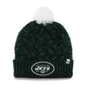 Women's Knit New York Jets NY Beanie Crochet Hat