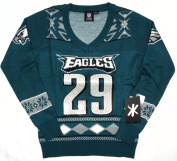 Philadelphia Eagles DeMarco Murray #29 Womens V Neck Glitter Sweater Size S w/ Priority Shipping