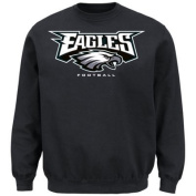 Philadelphia Eagles Critical Victory VIII Crewneck Sweatshirt – Grey