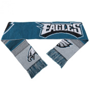 Philadelphia Eagles Forever Collectibles Unisex Reversible Split Logo Scarf