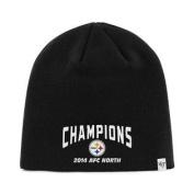Pittsburgh Steelers 47 Brand 2014 AFC North Champions Black Hat Cap Beanie