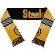 Pittsburgh Steelers Forever Collectibles Unisex Reversible Split Logo Scarf