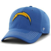 San Diego Chargers Blue Game Time Closer Performance Flexfit Hat Cap