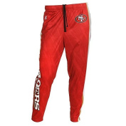 San Francisco 49ers Forever Collectibles KLEW Tapered Zip Joggers Sizes