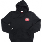 San Francisco 49ers Mitchell & Ness Pullover Hooded Sweatshirt Size L