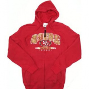 San Francisco 49ers G-III by Carl Banks Full Zip Hooded Sweatshirt Size M