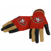 San Francisco 49ers Forever Collectibles Multi Coloured Knit Gloves Ladies One Size