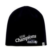 Seattle Seahawks 47 Brand 2014 Super Bowl XLVIII Champions Black Cap Hat Beanie