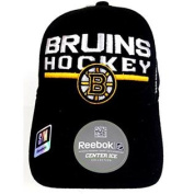 Boston Bruins Reebok Centre Ice Fitmax 70 Fitted Cap S/M