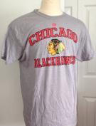 Chicago Blackhawks Majestic 3 HIT Short Sleeve Tshirt